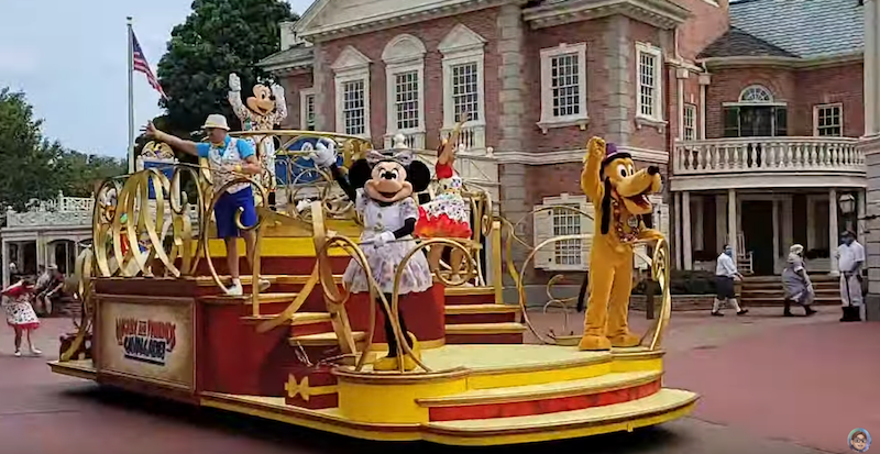 Mickey and Friends, Cavalcade, Mickey Mouse