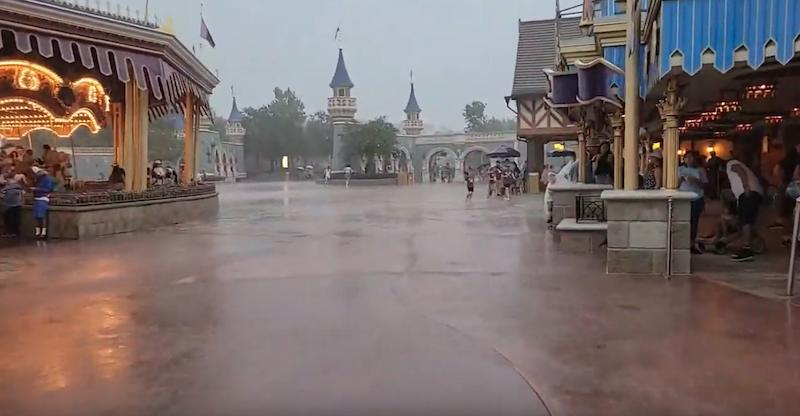 Rain, Magic Kingdom