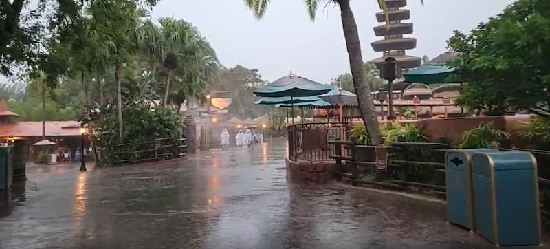 Rain, Adventure Land