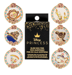 Beauty and the Beast Pins