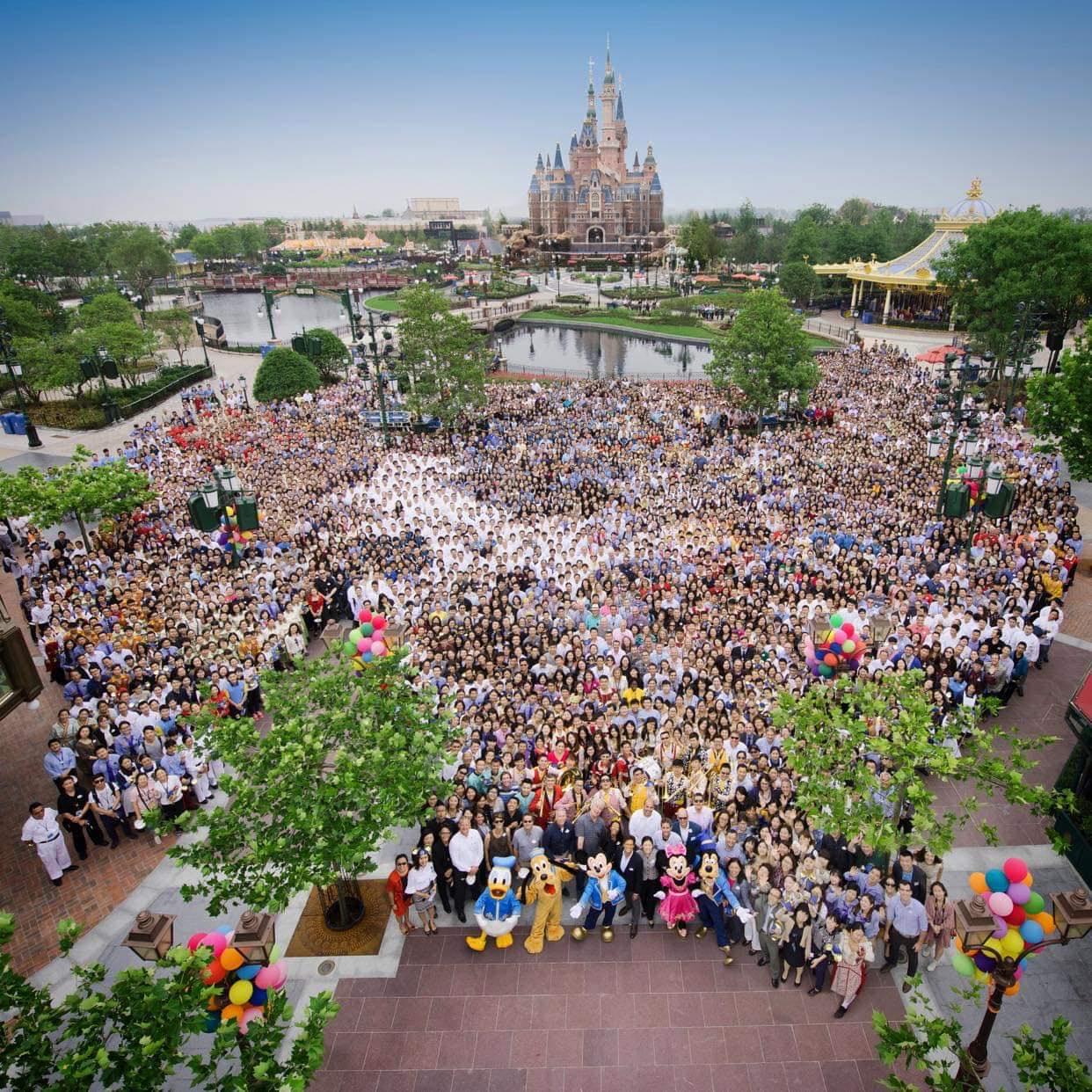 Shanghai Disney Resort cast members opening day