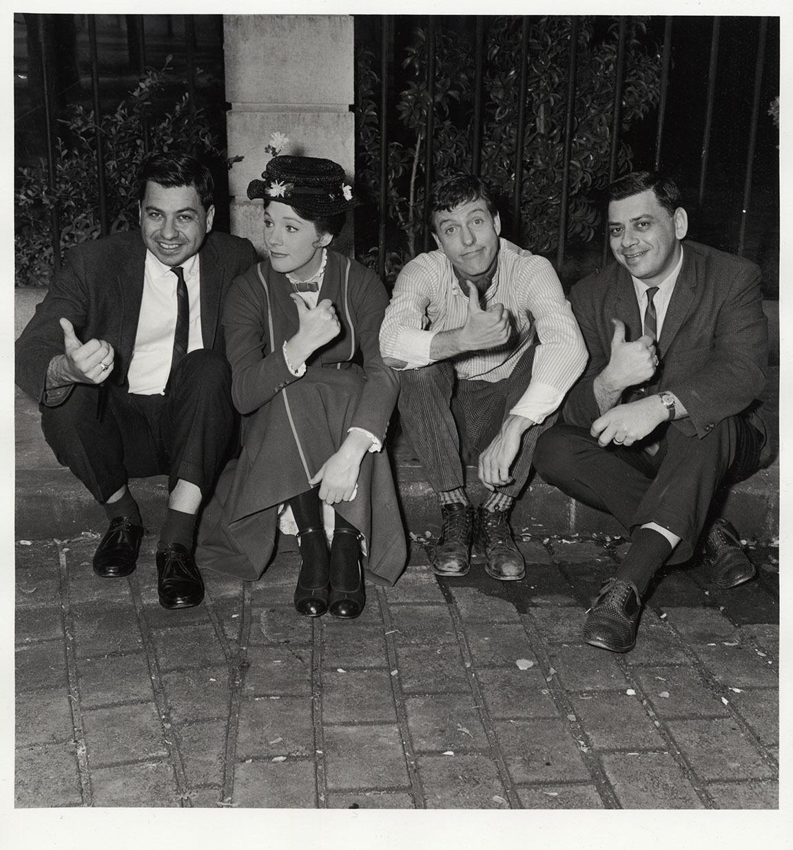 Sherman brothers Dick Van Dyke Julie Andrews