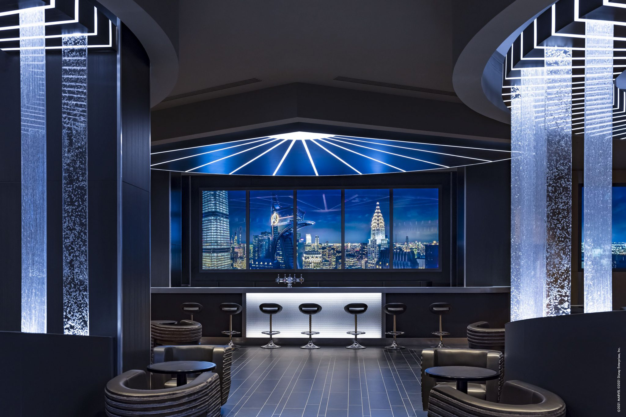 Skyline Bar at Hotel New York