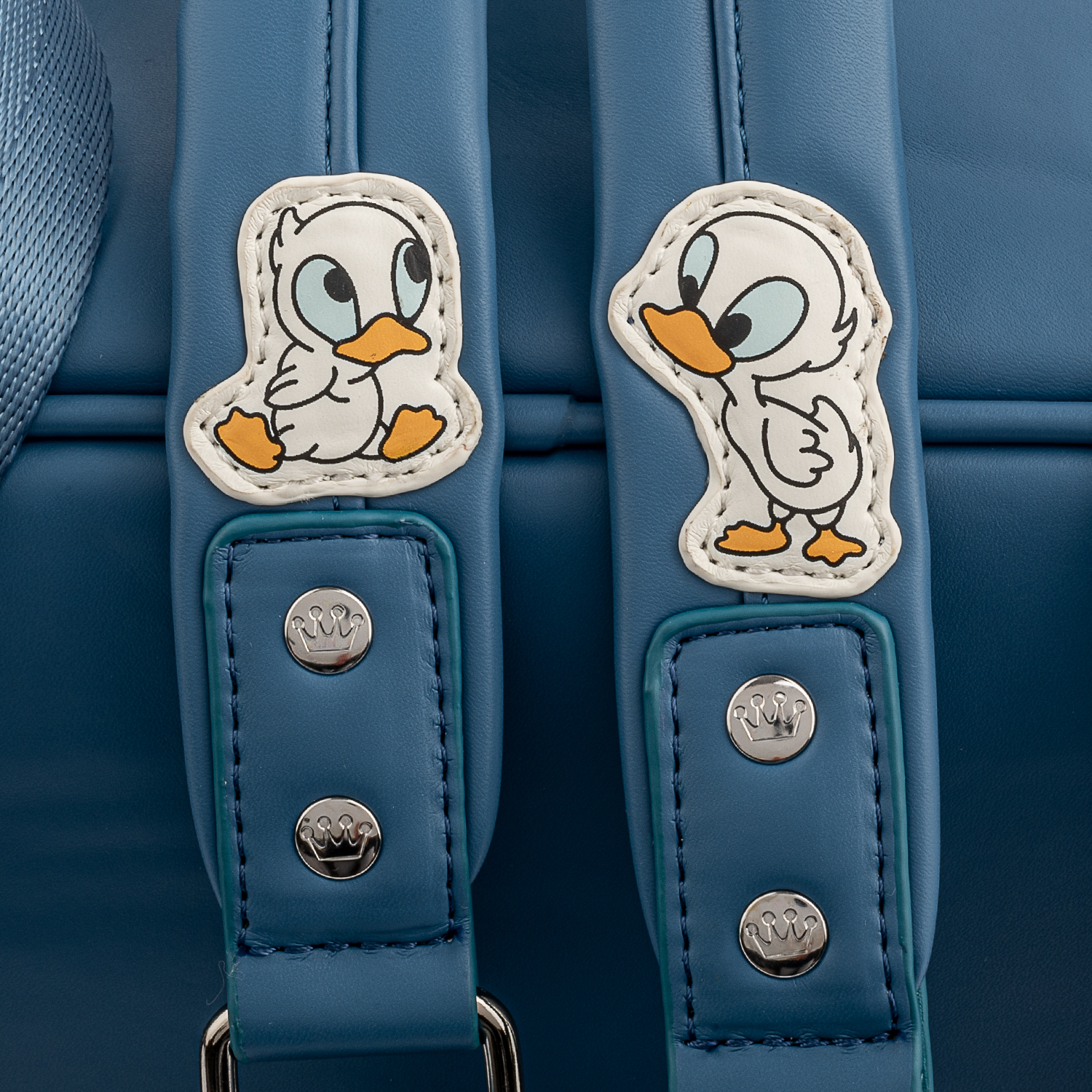 Stitch and Ducks Loungefly Mini Backpack