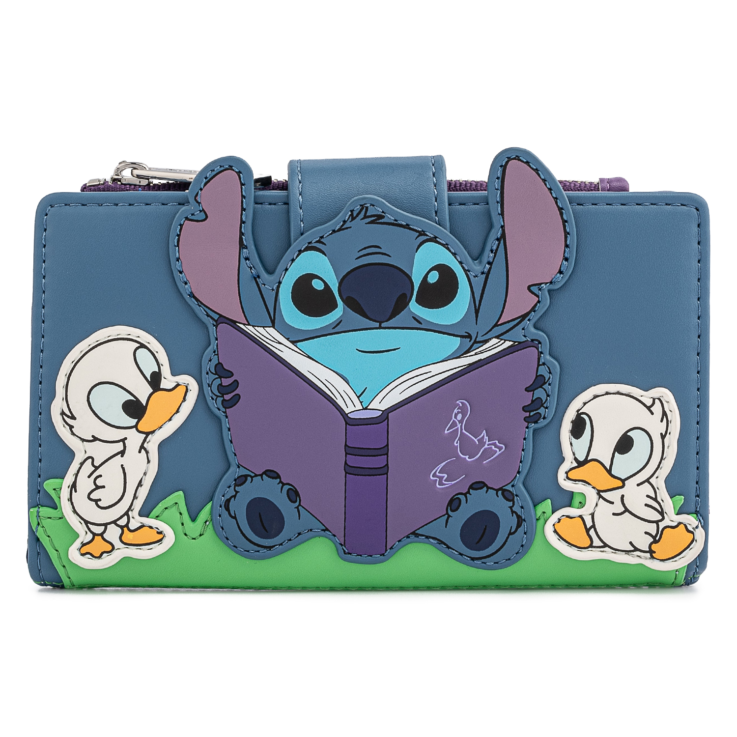 Stitch and Ducks Loungefly Flap Wallet
