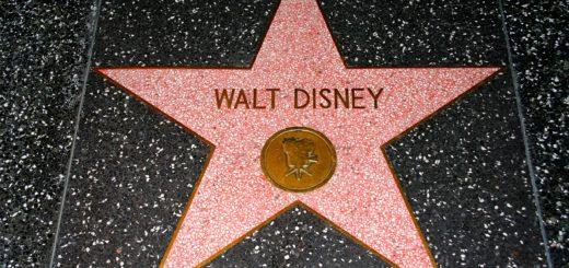 Walt Disney Hollywood Walk of Fame star