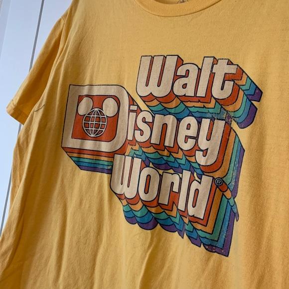 Yellow Walt Disney World shirt