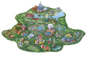 Disney Resorts Map