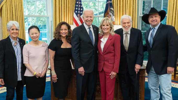President Biden and 2021 Kennedy Center honorees