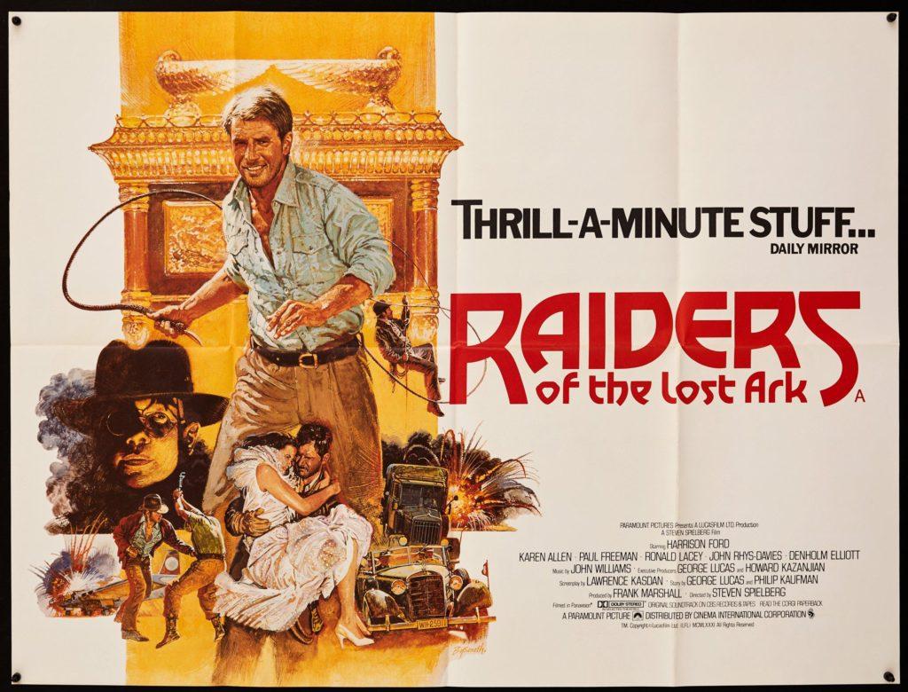 Indiana Jones, Raiders of the Lost Ark