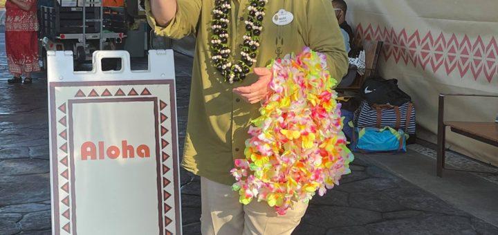 Disney Polynesian leis