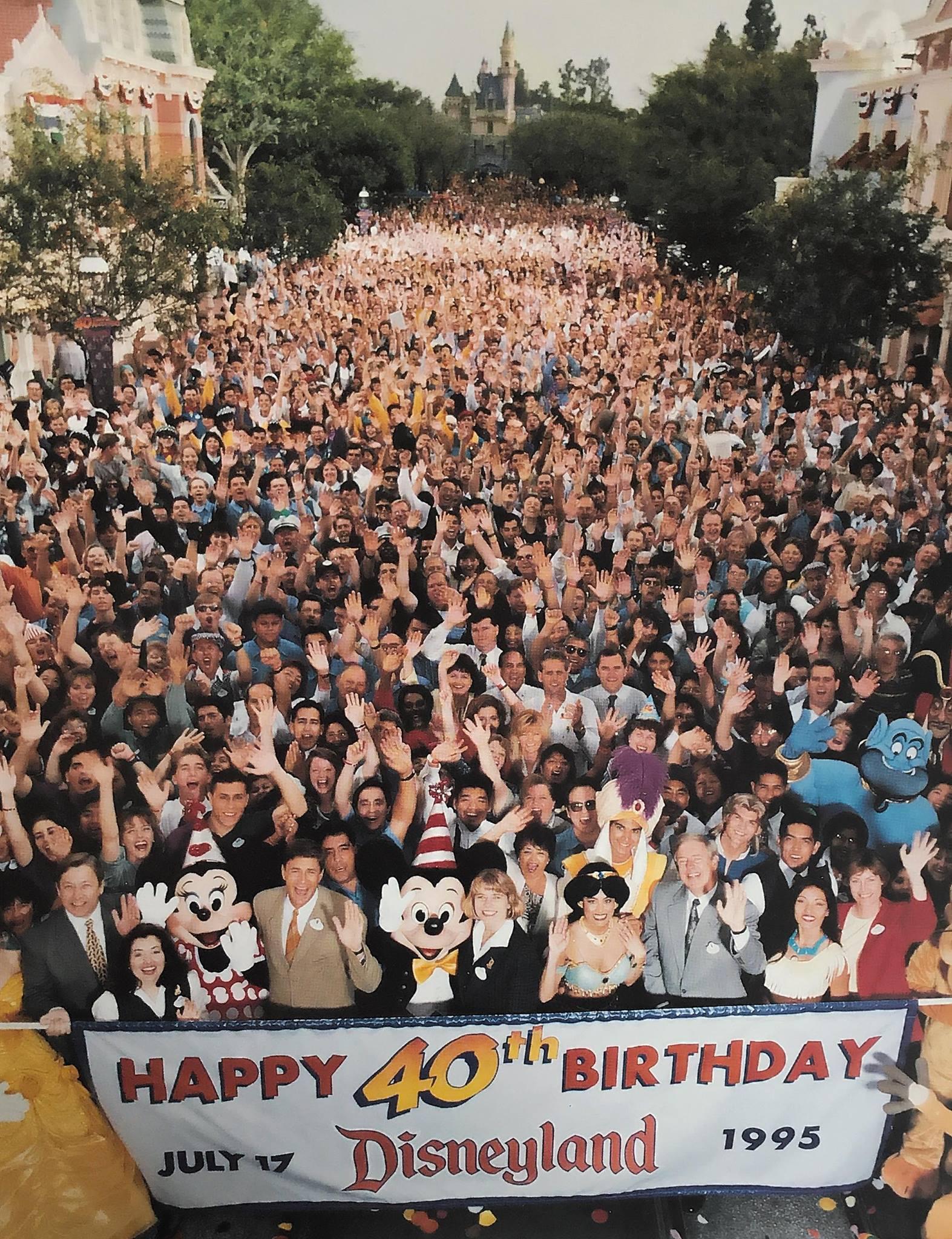 1995 Disneyland cast on 40th anniversary