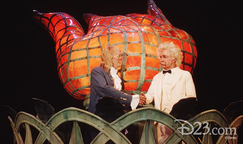 D23, Mark Twain, Ben Franklin