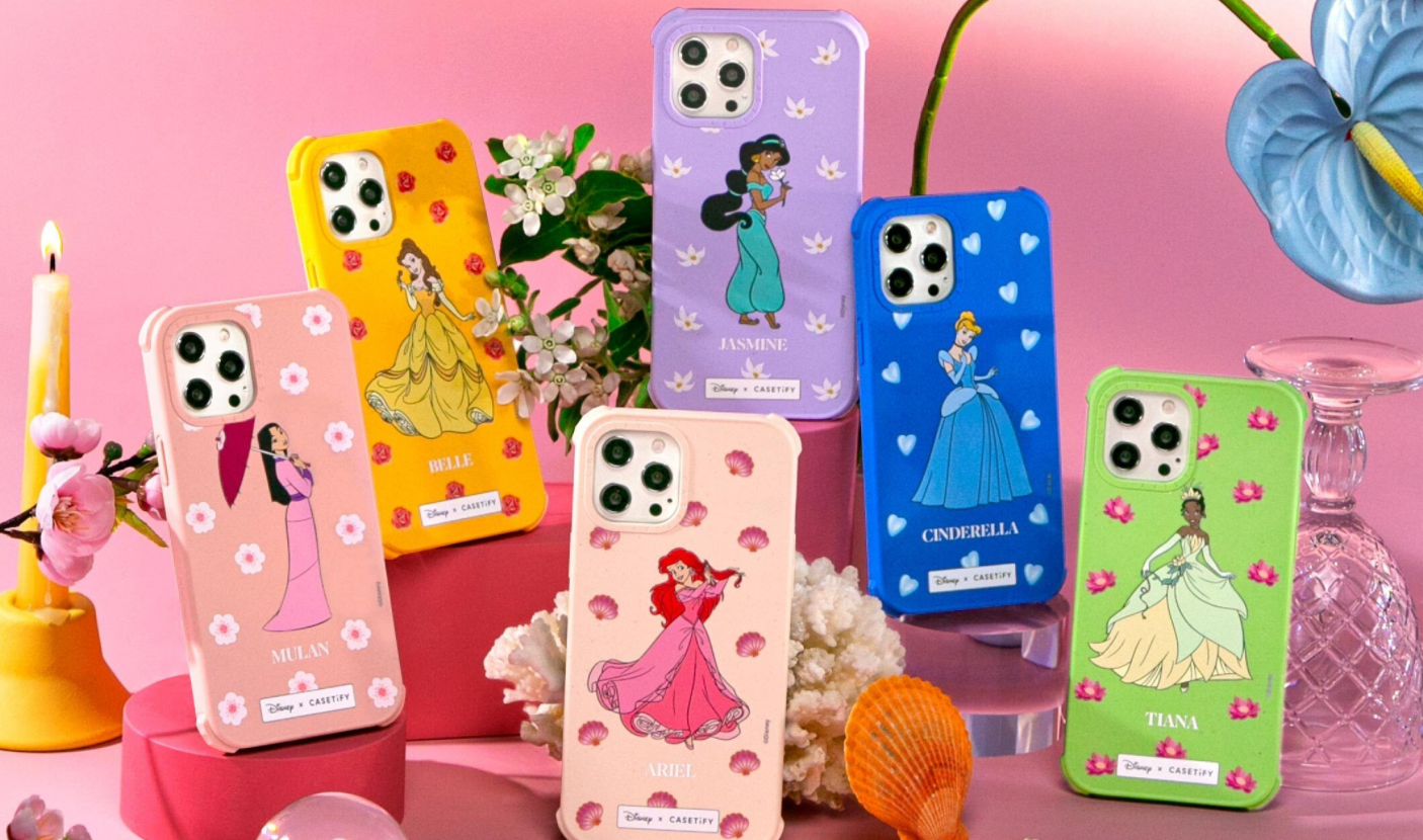All the princess phone cases