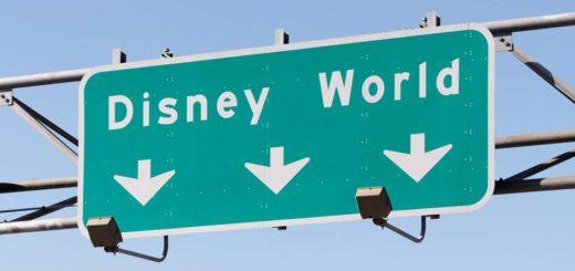 Disney World sign