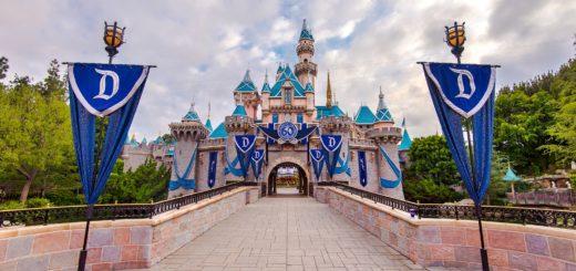 Disneyland Sleeping Beauty Castle 2015