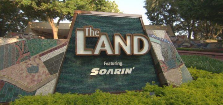 The Land Pavilion Sign