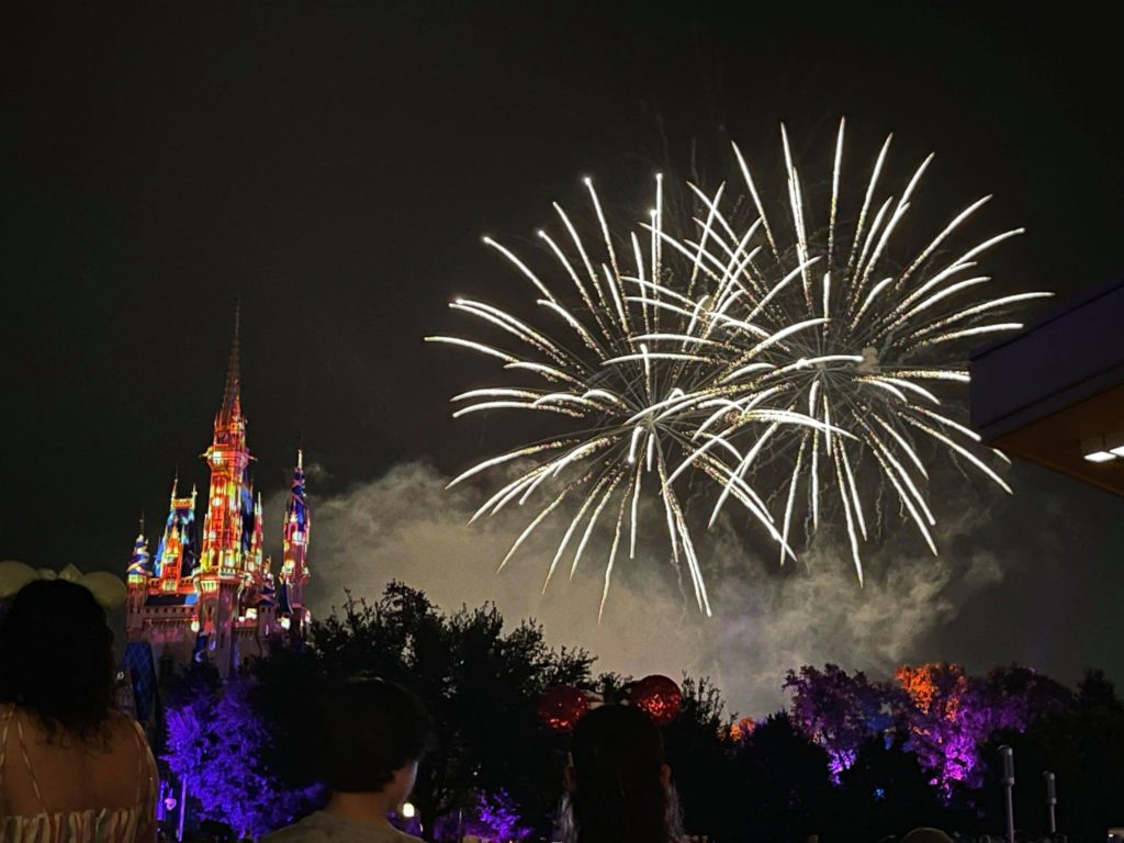 Happily Ever After, Fireworks