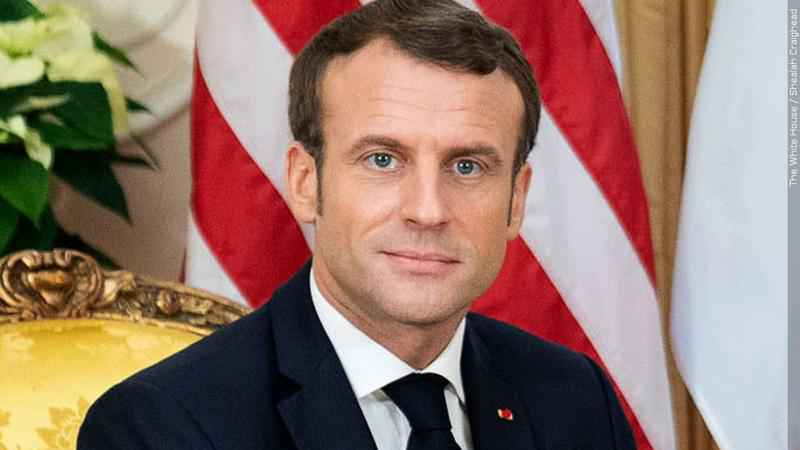 French President Emmanual Macron