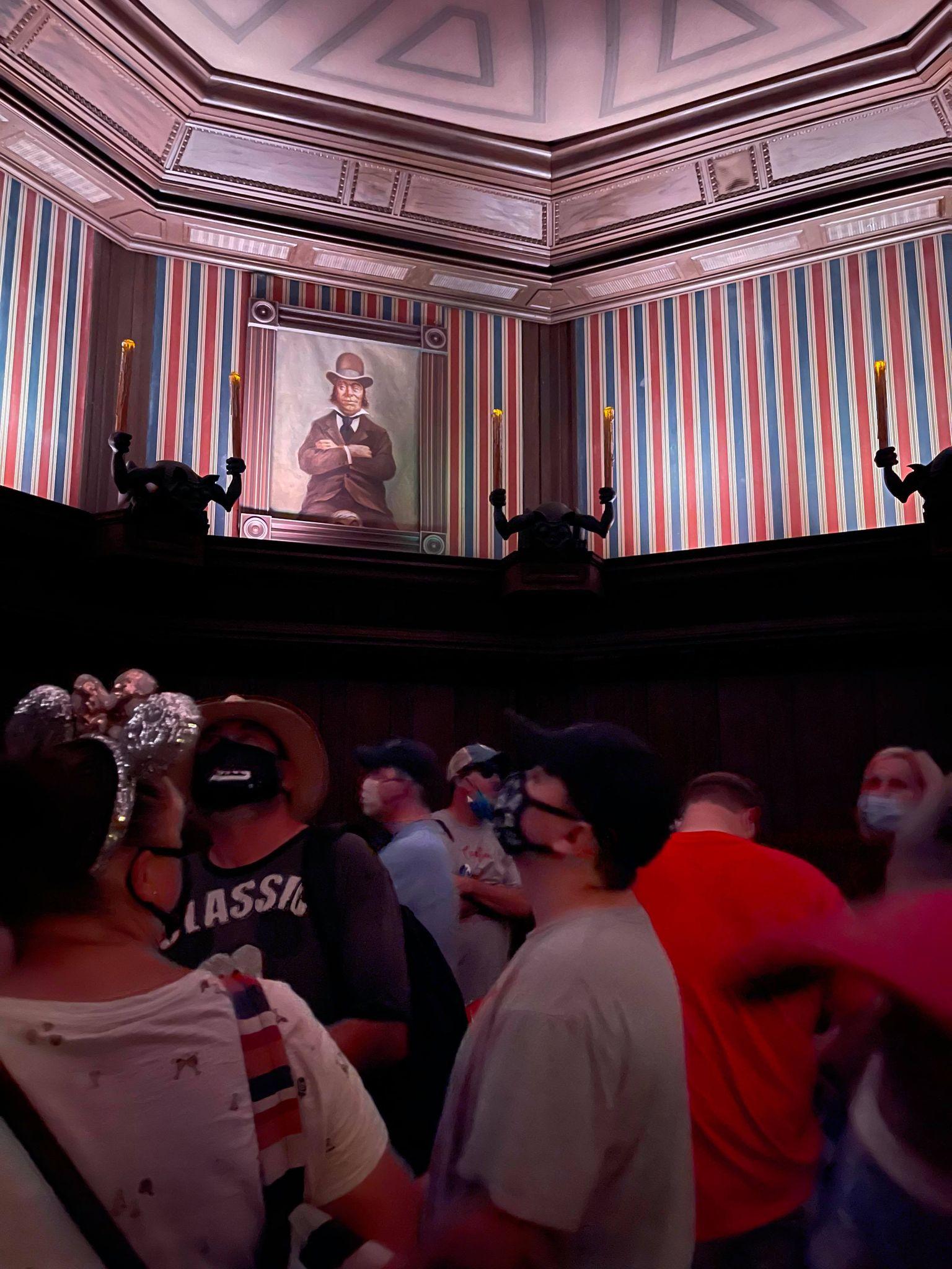 Haunted Mansion Preshow