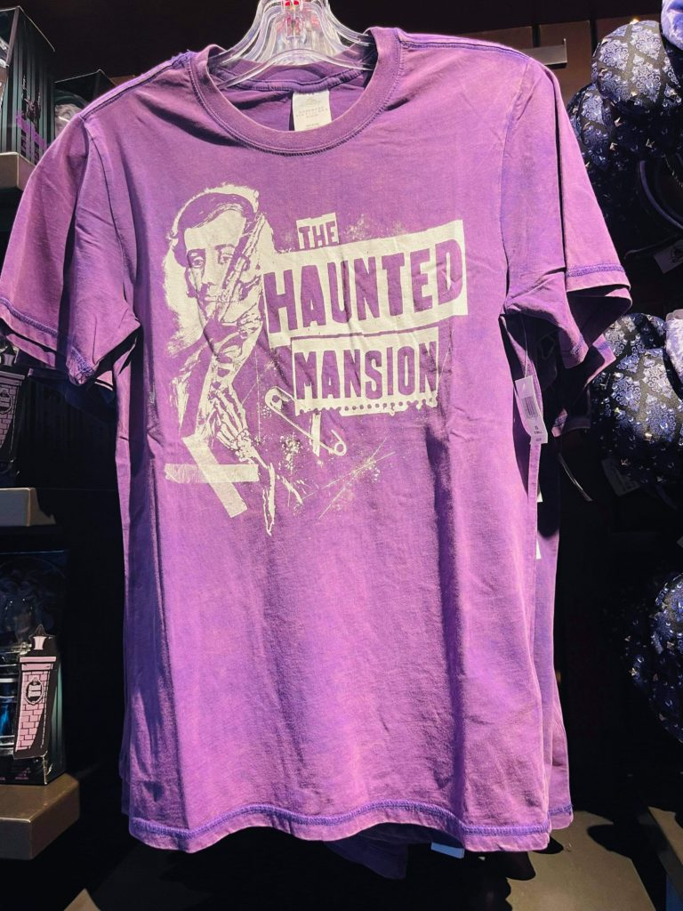 Purple Haunted Mansion T-shirt