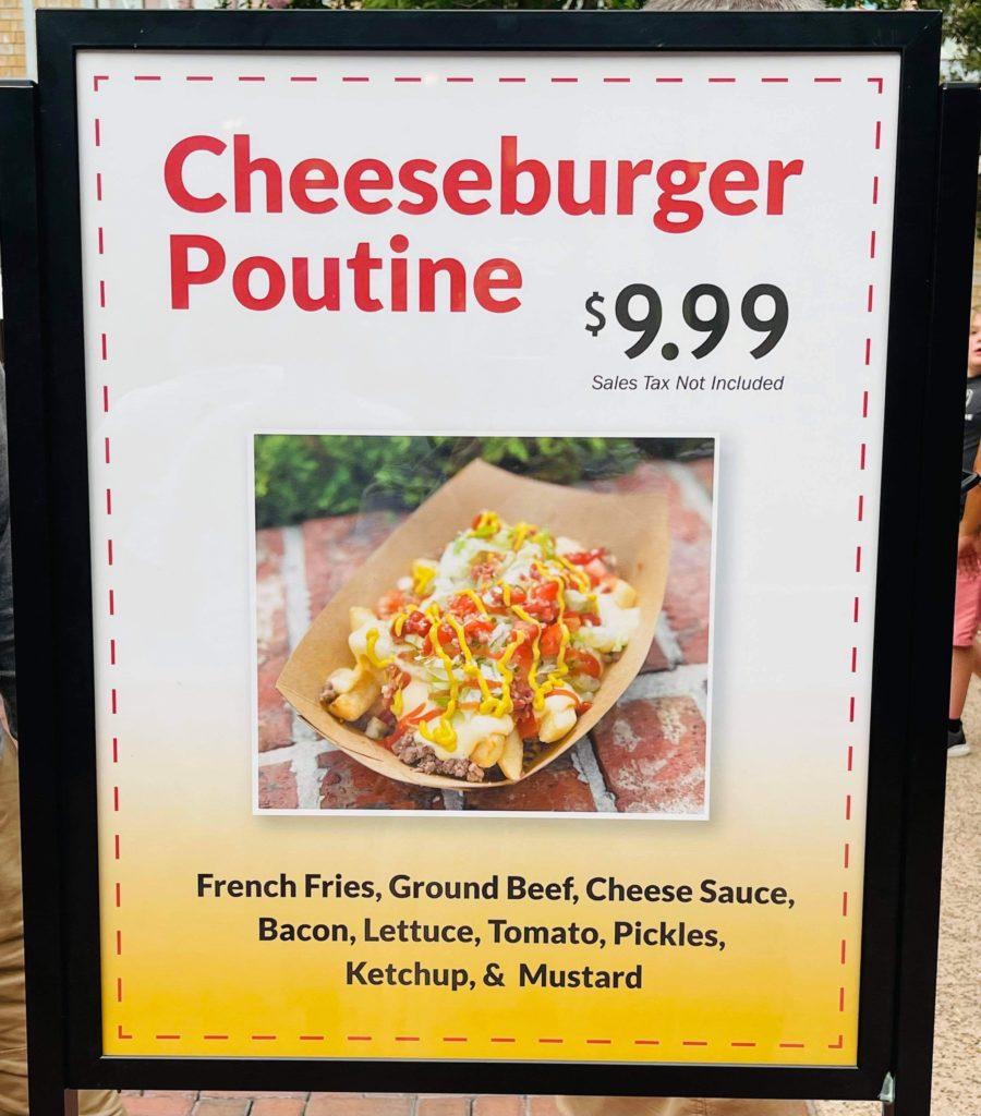 Cheeseburger Poutine