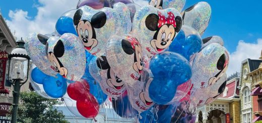Mickey and Minnie Balloons