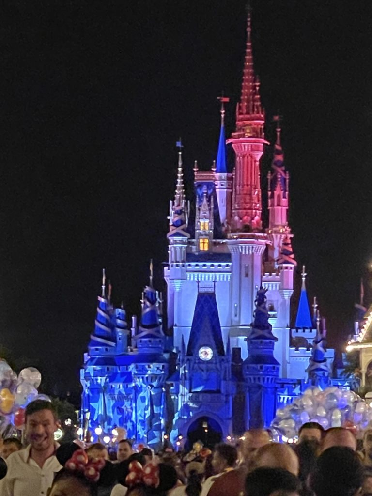 Cinderella Castle Fourth of July