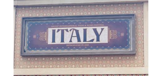 Italy Pavilion EPCOT Festival