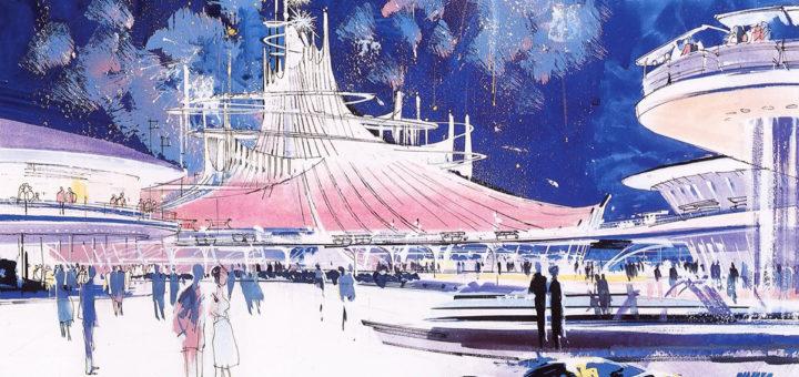 John Hench Space Voyage concept art
