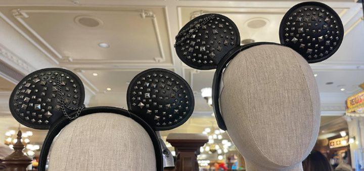black studded Mickey ears