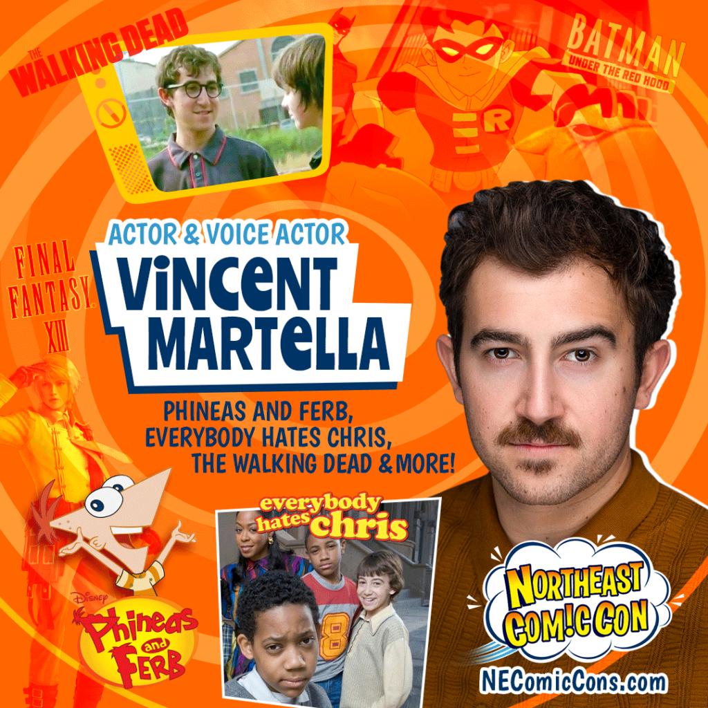 Vincent Martella, NE Comic Con