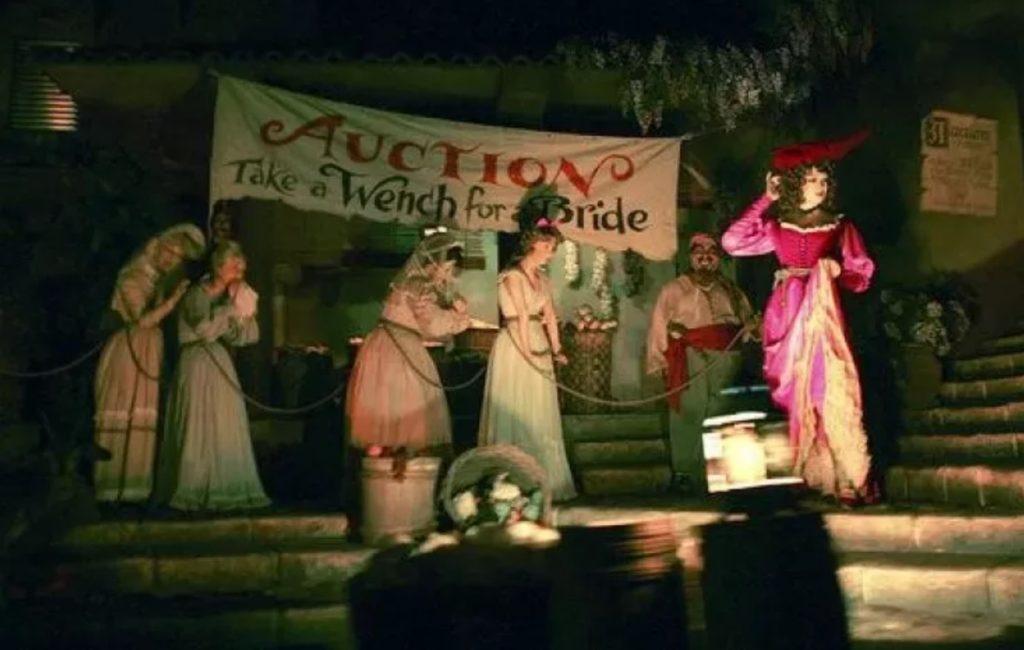 Pirates slave scene