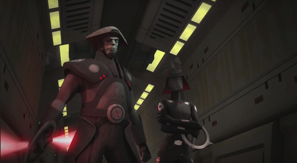 Star Wars Rebels, The Fifth Brother, Seventh Sister