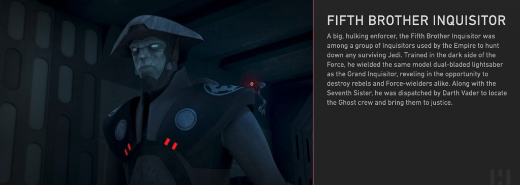 Fifth Brother, Star Wars Rebels