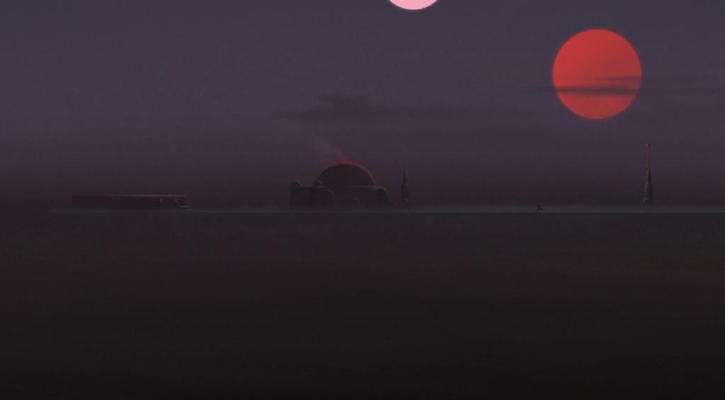 Tatooine, Twin Suns