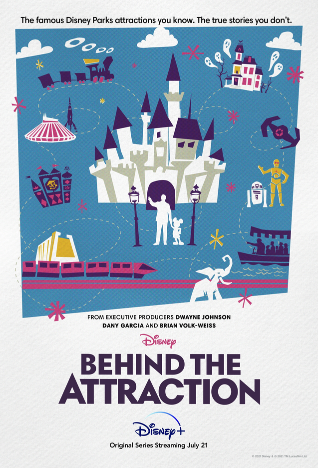 Disney+, Behind the Attraction