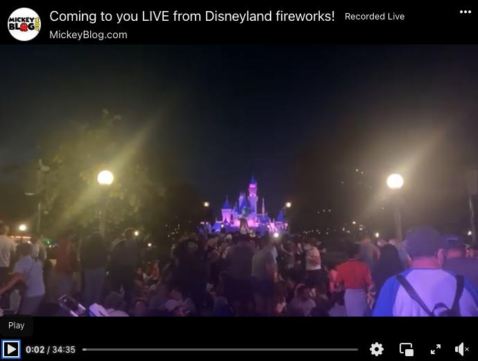 MickeyBlog.com, Facebook, Fireworks, Fireworks