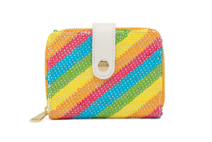 Rainbow Minnie Sequin Loungefly