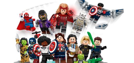 Marvel LEGO minifigures