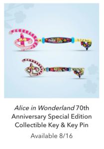 Alice in Wonderland 70th anniversary