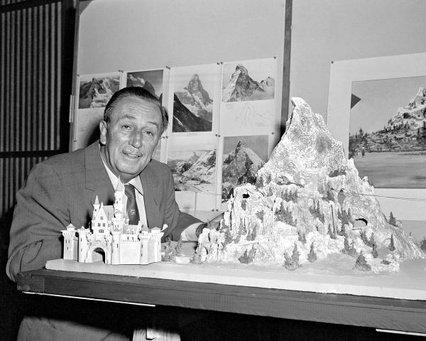 Walt with Matterhorn