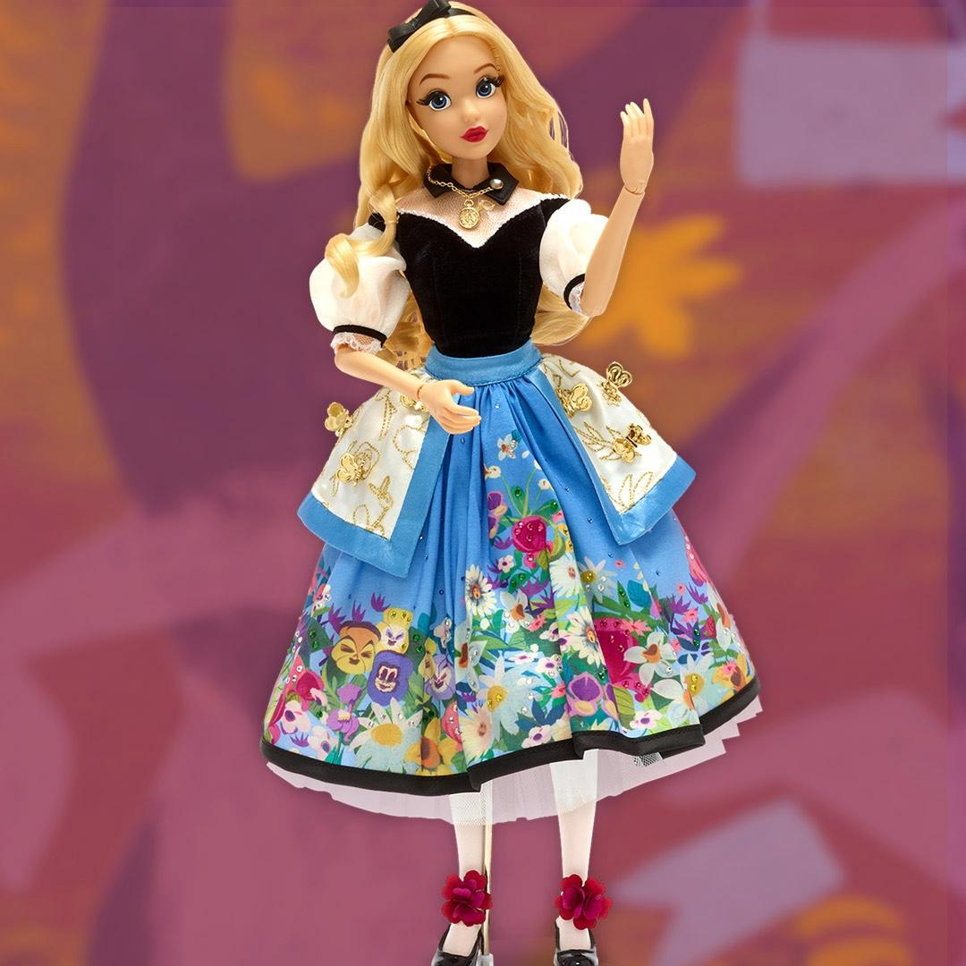 Alice in Wonderland 70th doll