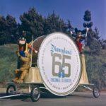 Disneyland tencennial float