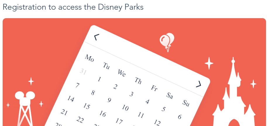 DLP reservation calendar