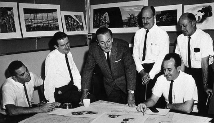 Walt and early Imagineers