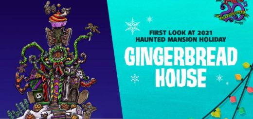 2021 Haunted Mansion Gingerbread