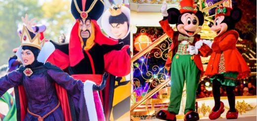Disneyland Paris Halloween Christmas 2021