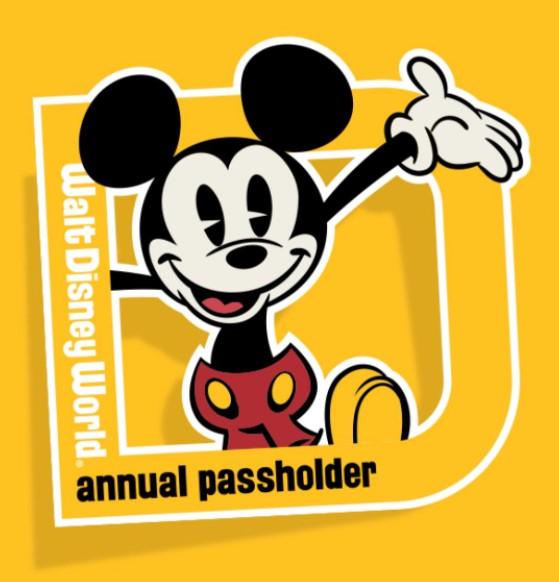 Disney World Annual Passholder magnet