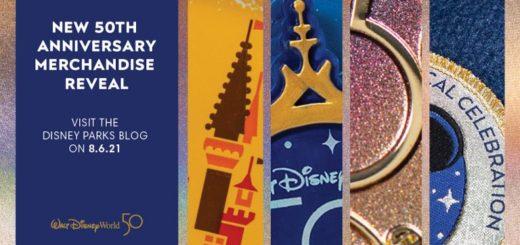 Disney World 50 merchandise